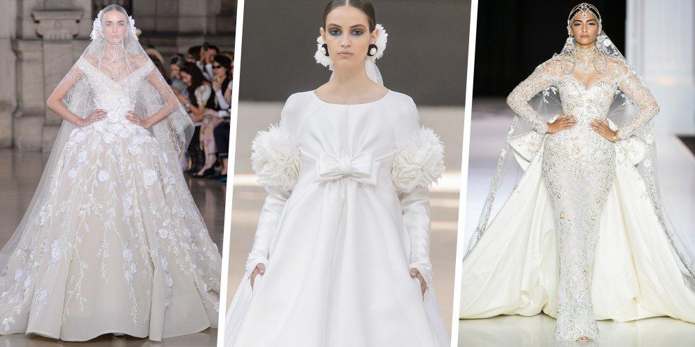 6600f3d86c7 Accueil MODE Les plus belles robes de mariée Haute Couture automne-hiver  2017-2018. MODE